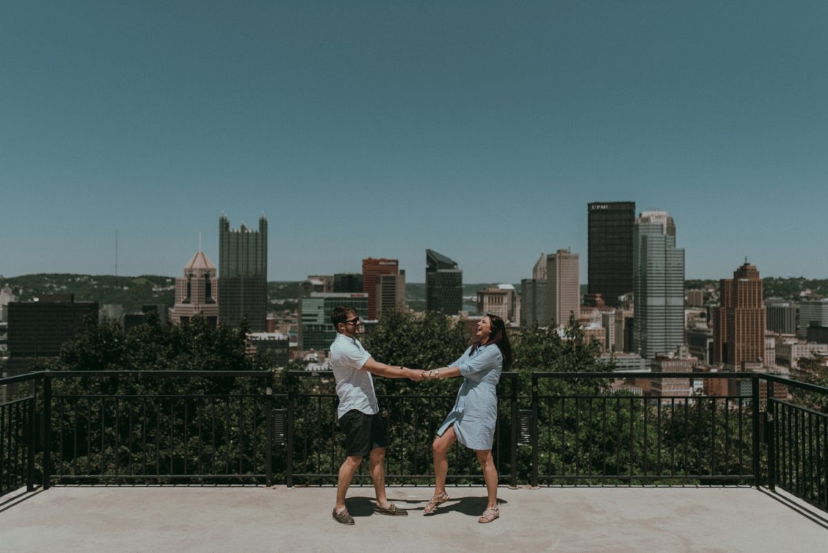 Downtown Pittsburgh Engagement Session Archives Whitling